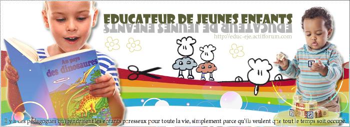 Educateur de jeunes enfants { EJE}