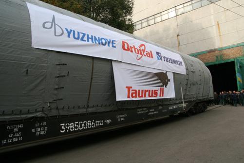 Le lanceur Taurus II 121_2010