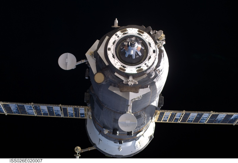 lancement de Progress M-08M le 27 octobre 2010 Iss02610