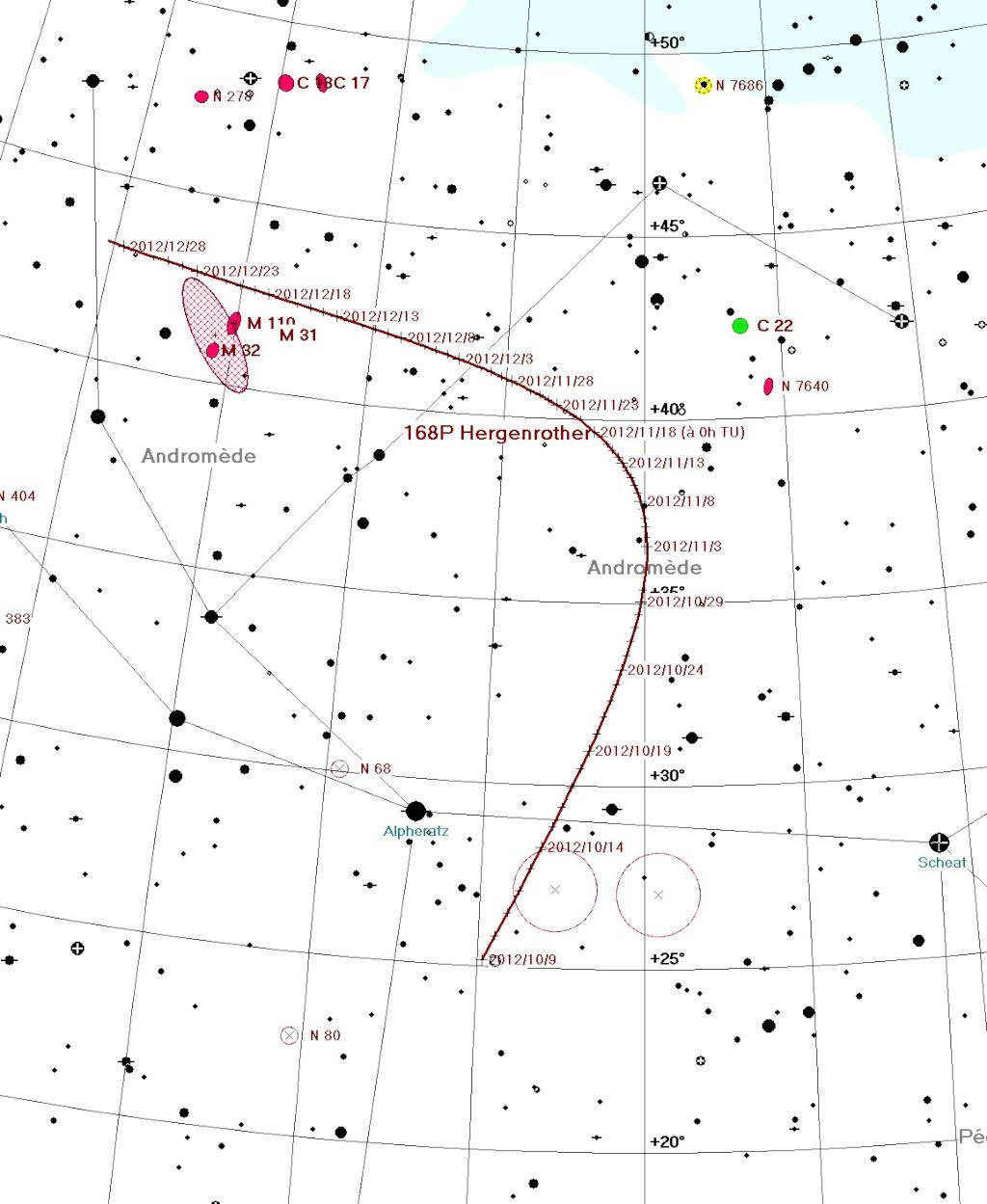 Suivi des comètes 168p_w10