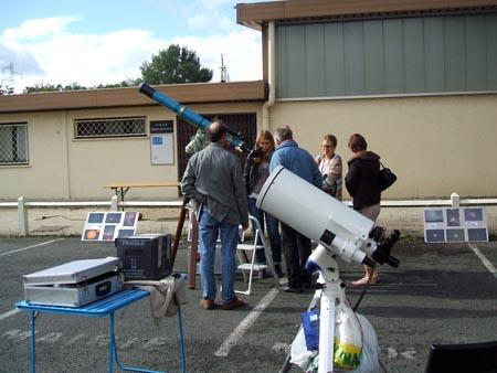 Animation solaire dimanche 14 octobre 2012 Dscf0544