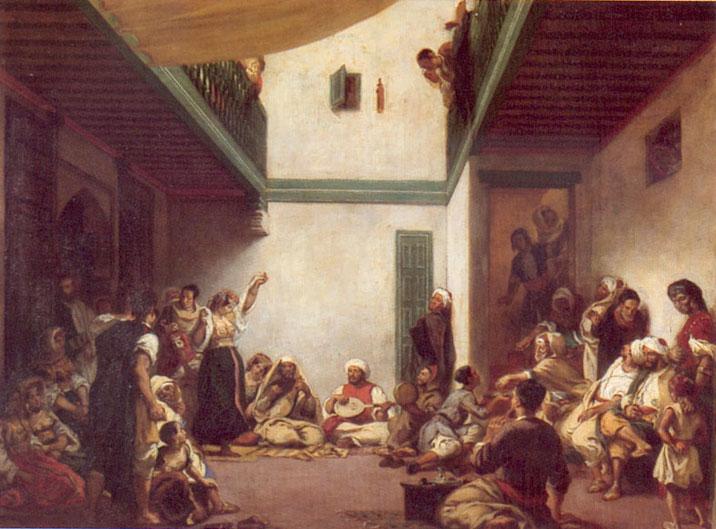 SOIR DU HENNE AVEC  LA KESOUA EL KBIRA (grande robe en arabe) Eugene10