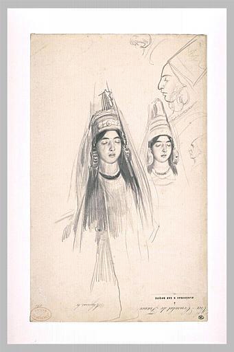 SOIR DU HENNE AVEC  LA KESOUA EL KBIRA (grande robe en arabe) Mariee11