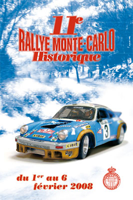 Rallye Monte-Carlo Historique Affich10