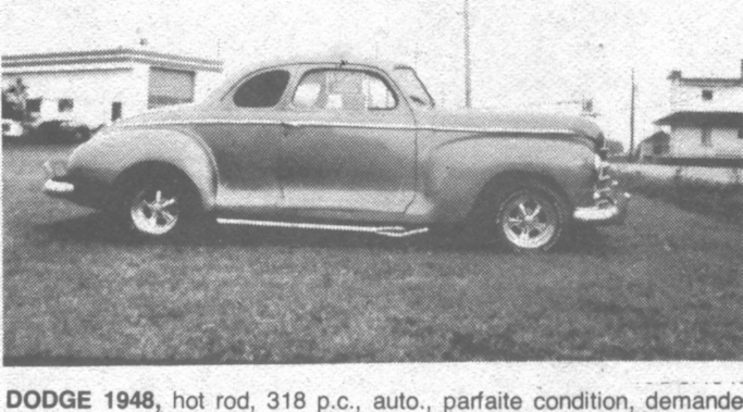 Ancien custom et modifer du Québec - Page 2 Dodge410