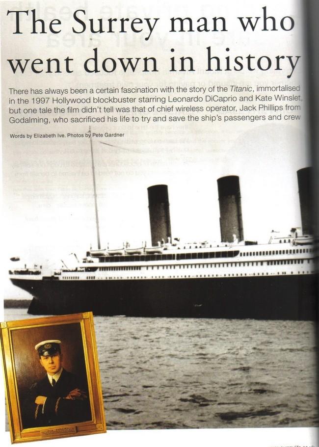 Surrey life : Titanic Special Surrey11