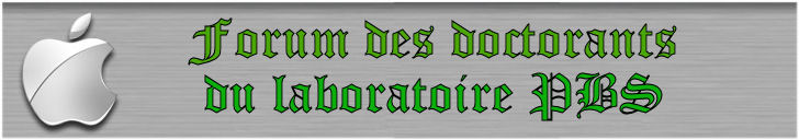 Forum des Doctorants de l'UMR 6522 Logo210