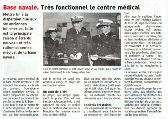 [Le service de santé] INFIRMERIE BRESTOISE Lemonn10