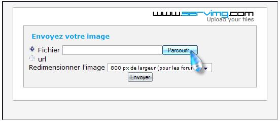 [Tuto] Héberger vos images chez Servimg.com. 210