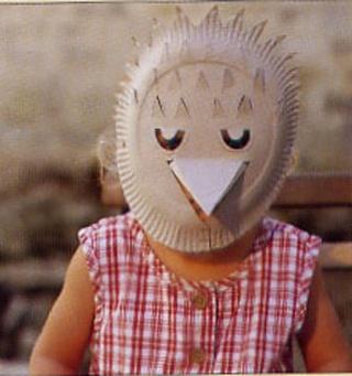 masques faciles Hibou10