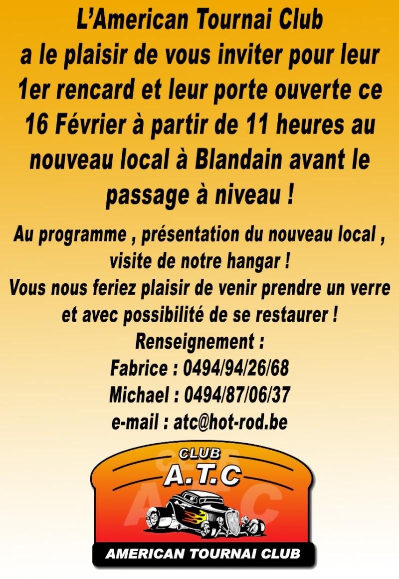 INVITATION EN BELGIQUE Rencar10