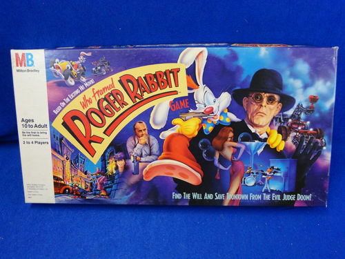 "ROGER RABBIT ""Who Framed""  (Ljn)  1988 Kgrhqj10"