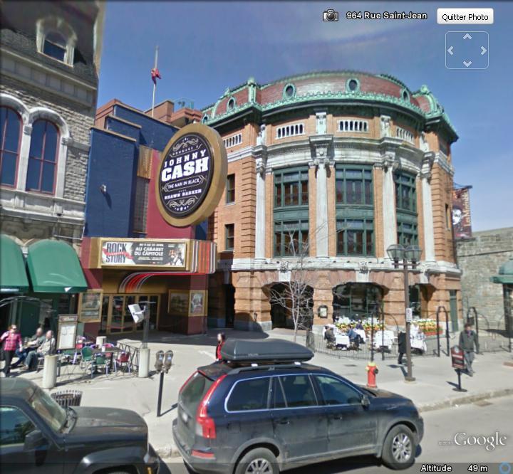 STREET VIEW : Cabarets et salles de spectacles Salle_10