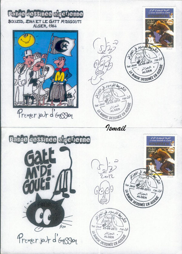 La Bande Dessinée en Algérie  - Page 2 1116