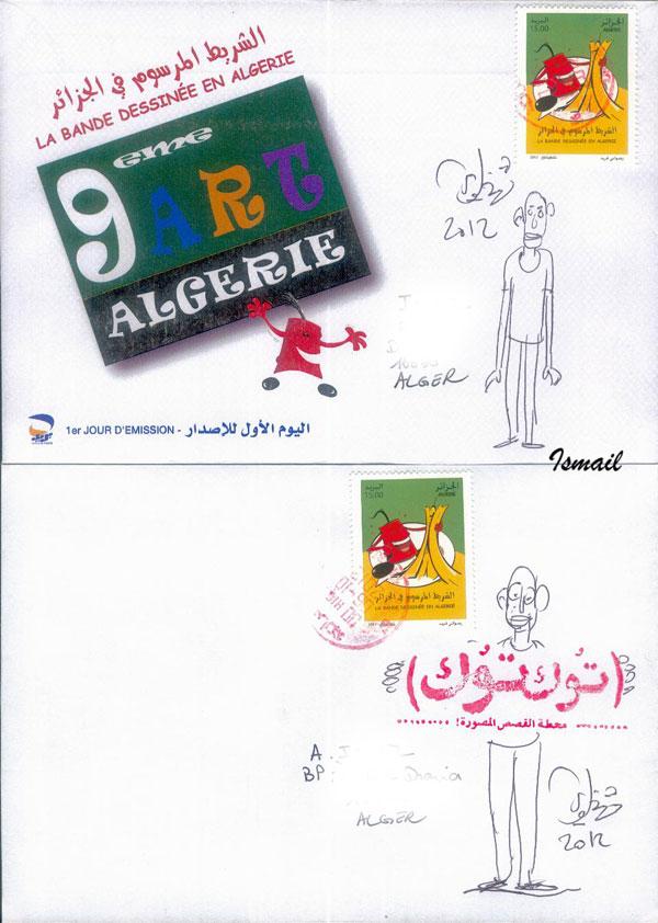 La Bande Dessinée en Algérie  - Page 2 820