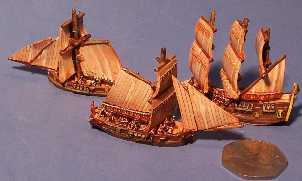 De l'échelle des navires à utiliser Closeu10