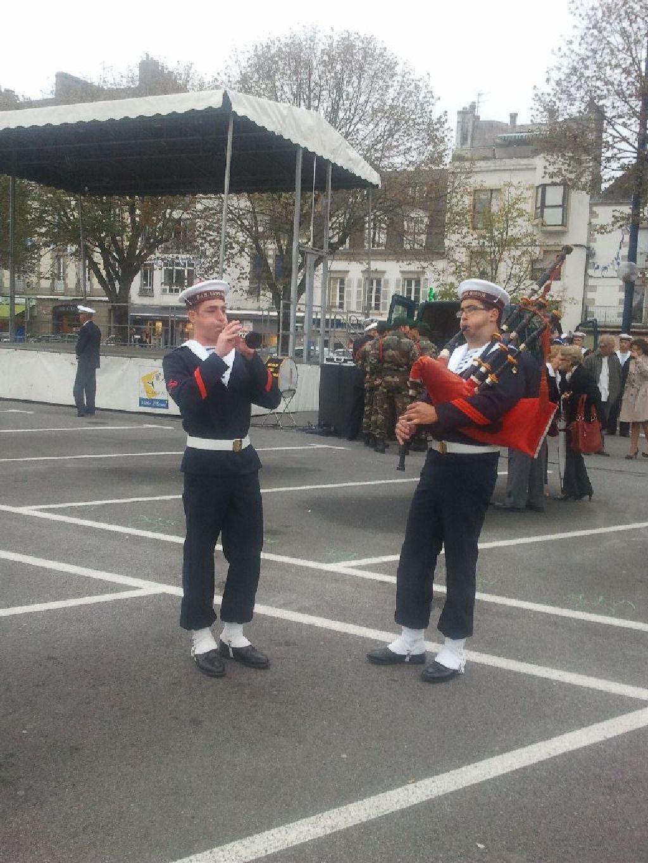 Reportage cérémonie de tradition Ecole des fusiliers à Concarneau 111