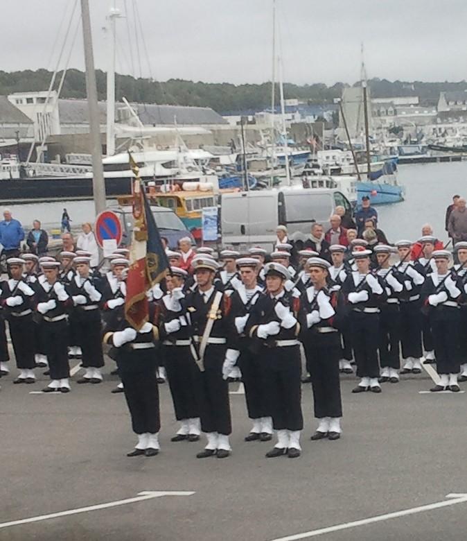Reportage cérémonie de tradition Ecole des fusiliers à Concarneau 1213
