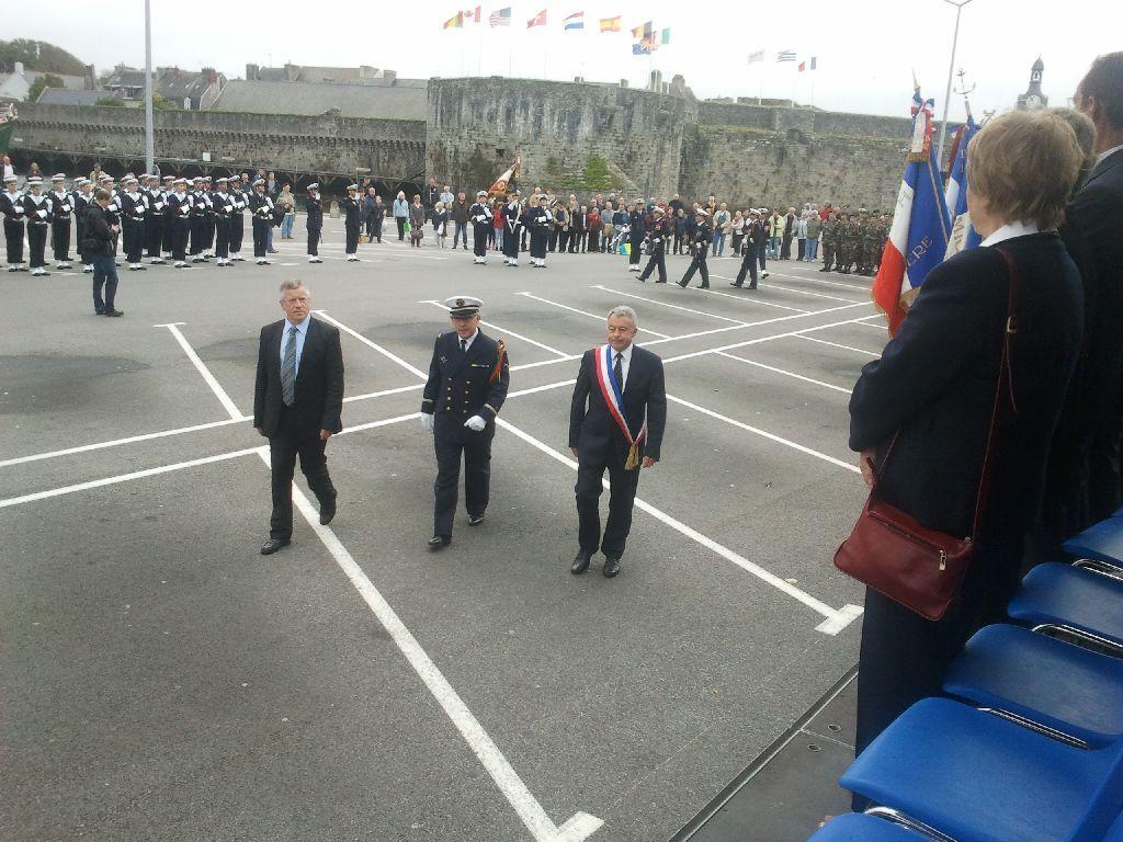 Reportage cérémonie de tradition Ecole des fusiliers à Concarneau 1312