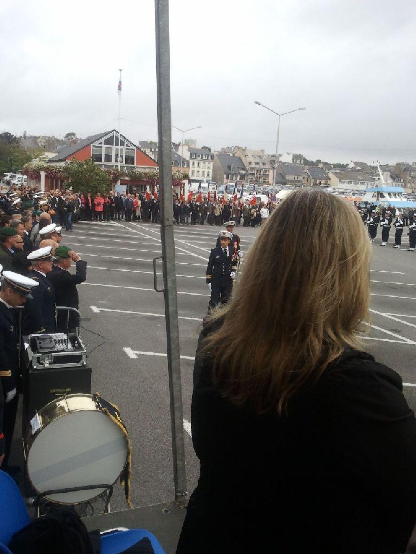 Reportage cérémonie de tradition Ecole des fusiliers à Concarneau 1415