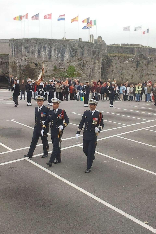 Reportage cérémonie de tradition Ecole des fusiliers à Concarneau 1515