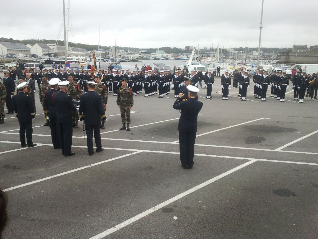 Reportage cérémonie de tradition Ecole des fusiliers à Concarneau 2112