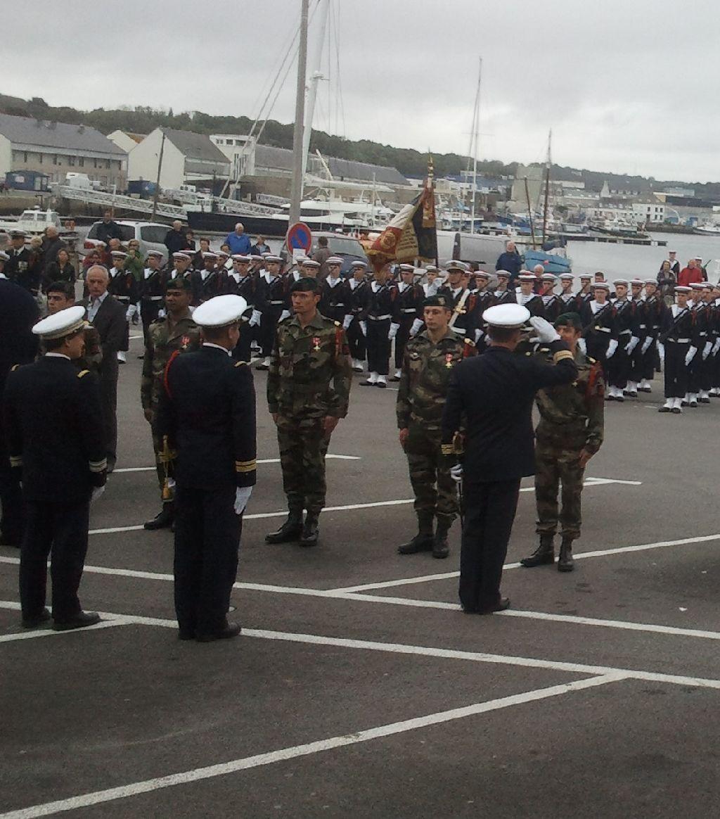 Reportage cérémonie de tradition Ecole des fusiliers à Concarneau 2214