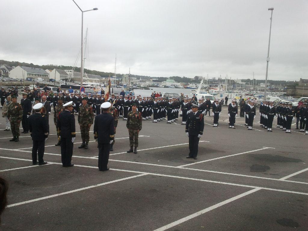 Reportage cérémonie de tradition Ecole des fusiliers à Concarneau 2313