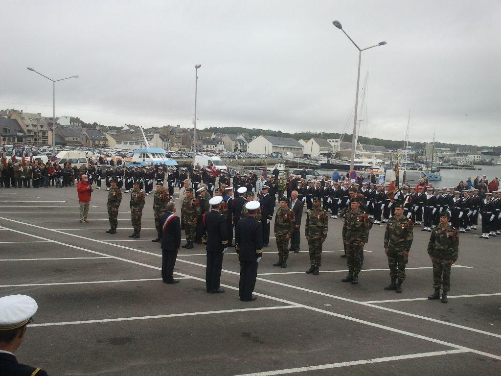 Reportage cérémonie de tradition Ecole des fusiliers à Concarneau 2412