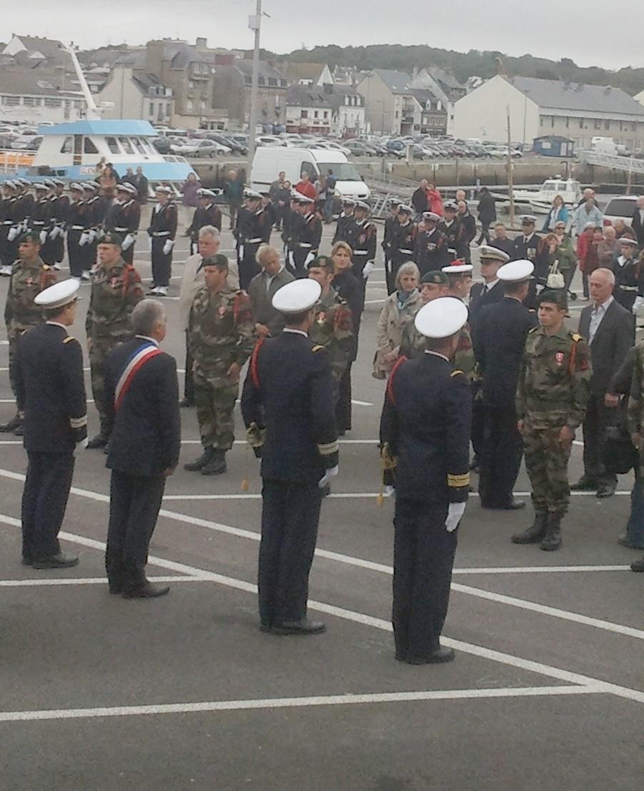 Reportage cérémonie de tradition Ecole des fusiliers à Concarneau 2512