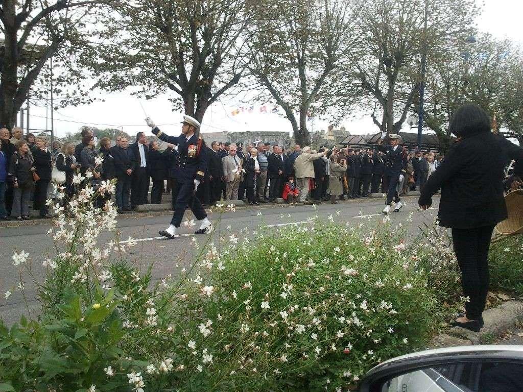 Reportage cérémonie de tradition Ecole des fusiliers à Concarneau 2712