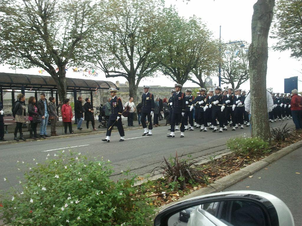 Reportage cérémonie de tradition Ecole des fusiliers à Concarneau 2812