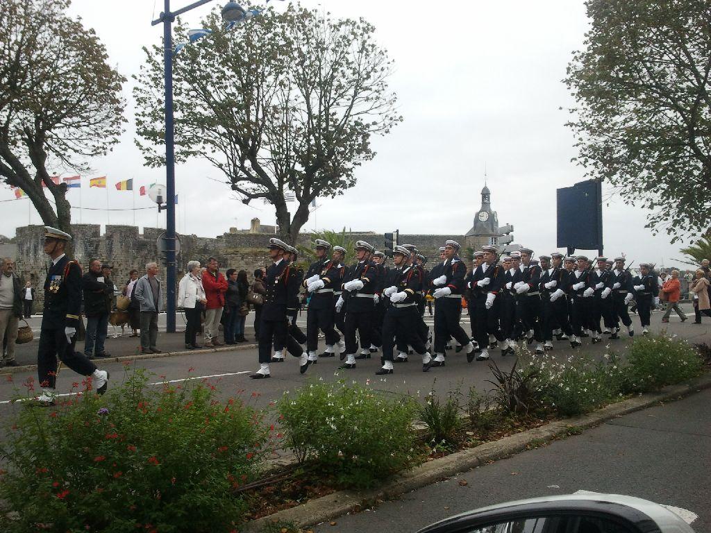 Reportage cérémonie de tradition Ecole des fusiliers à Concarneau 2912