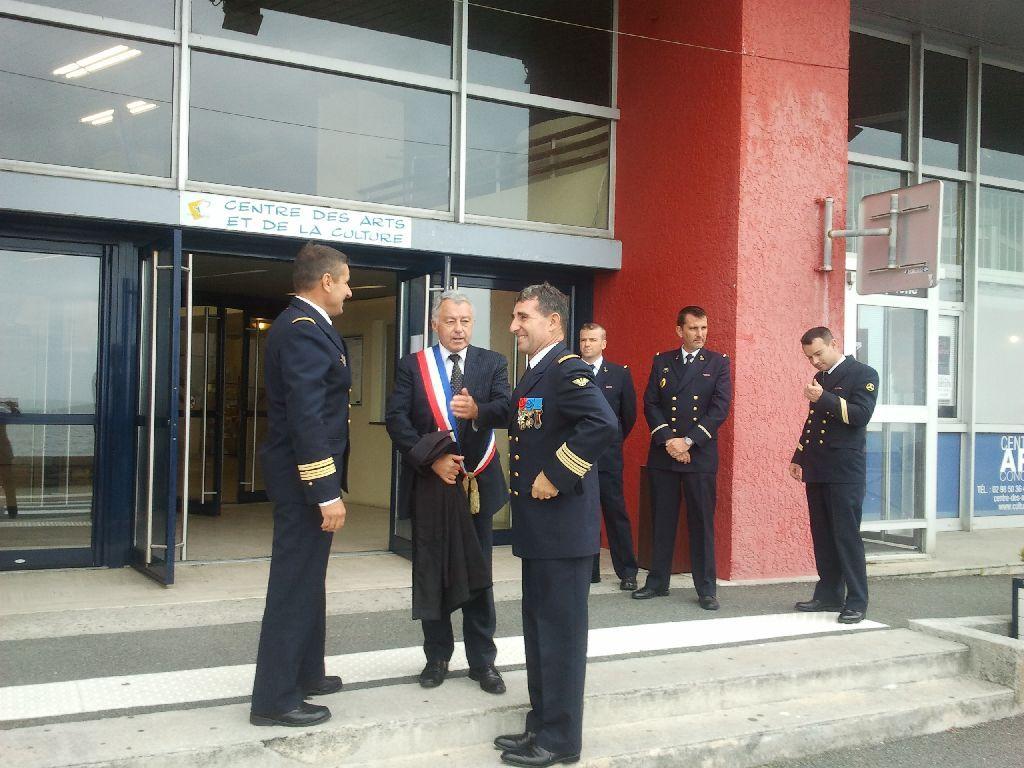 Reportage cérémonie de tradition Ecole des fusiliers à Concarneau 3112