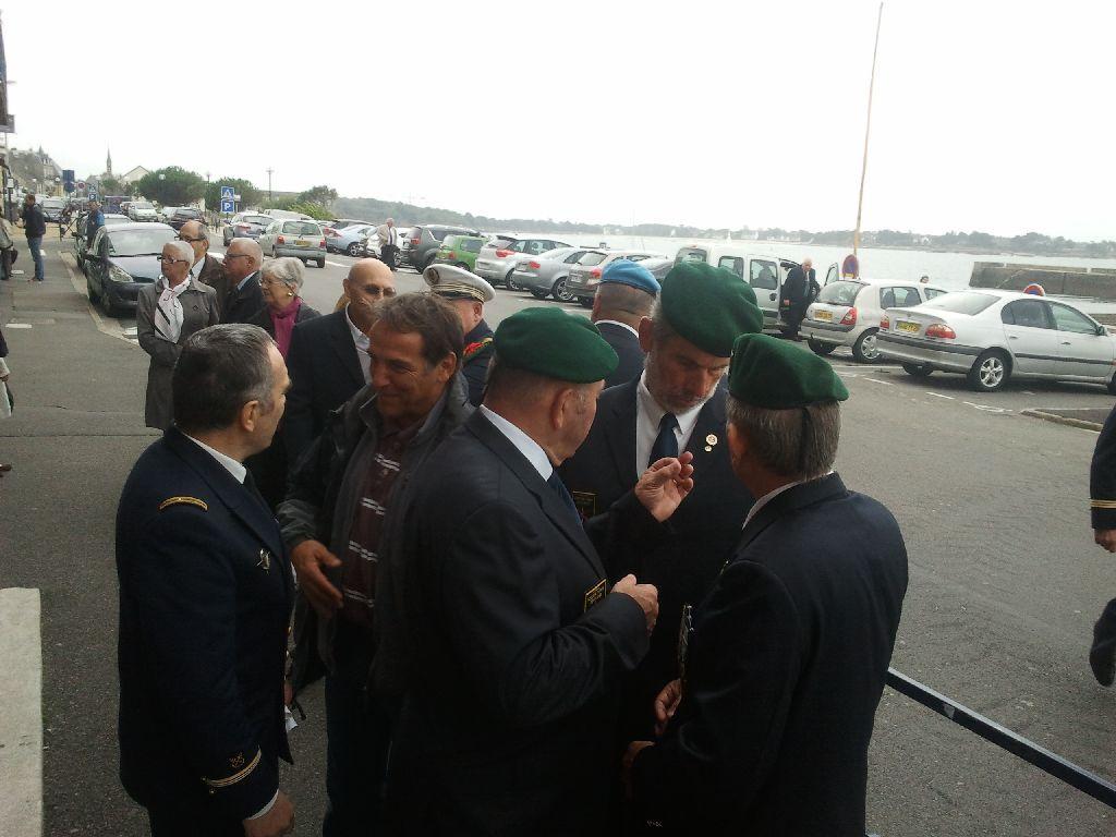 Reportage cérémonie de tradition Ecole des fusiliers à Concarneau 3212