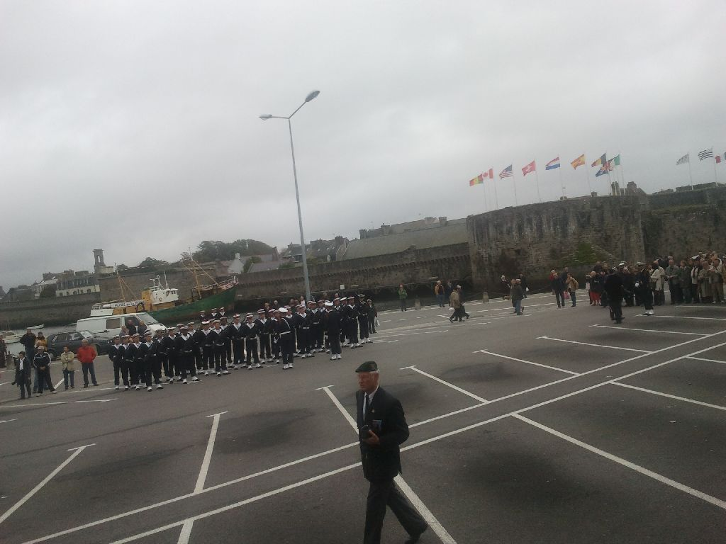 Reportage cérémonie de tradition Ecole des fusiliers à Concarneau 513