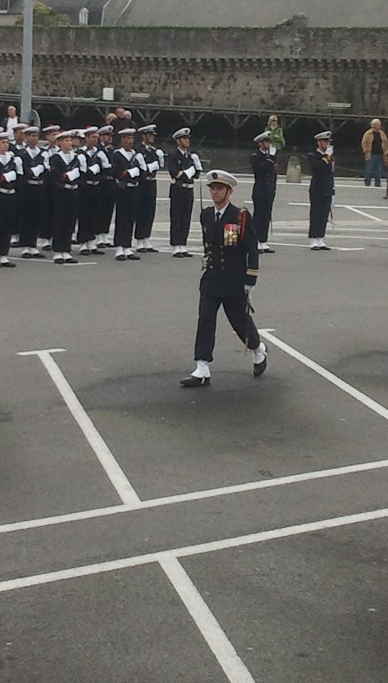 Reportage cérémonie de tradition Ecole des fusiliers à Concarneau 613