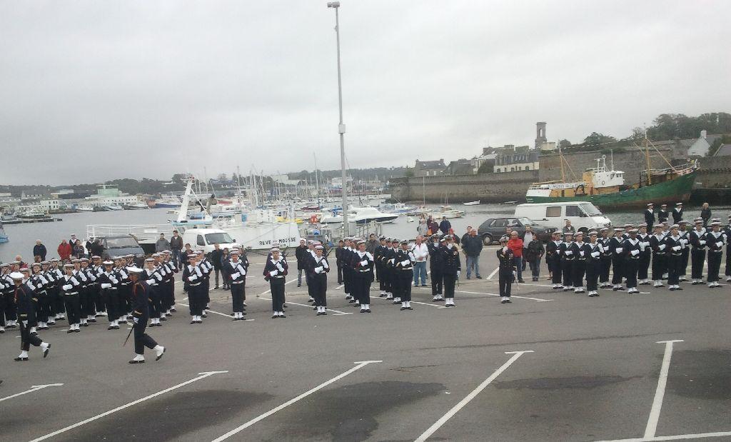 Reportage cérémonie de tradition Ecole des fusiliers à Concarneau 713