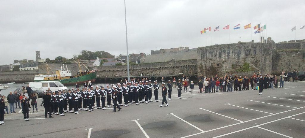 Reportage cérémonie de tradition Ecole des fusiliers à Concarneau 811