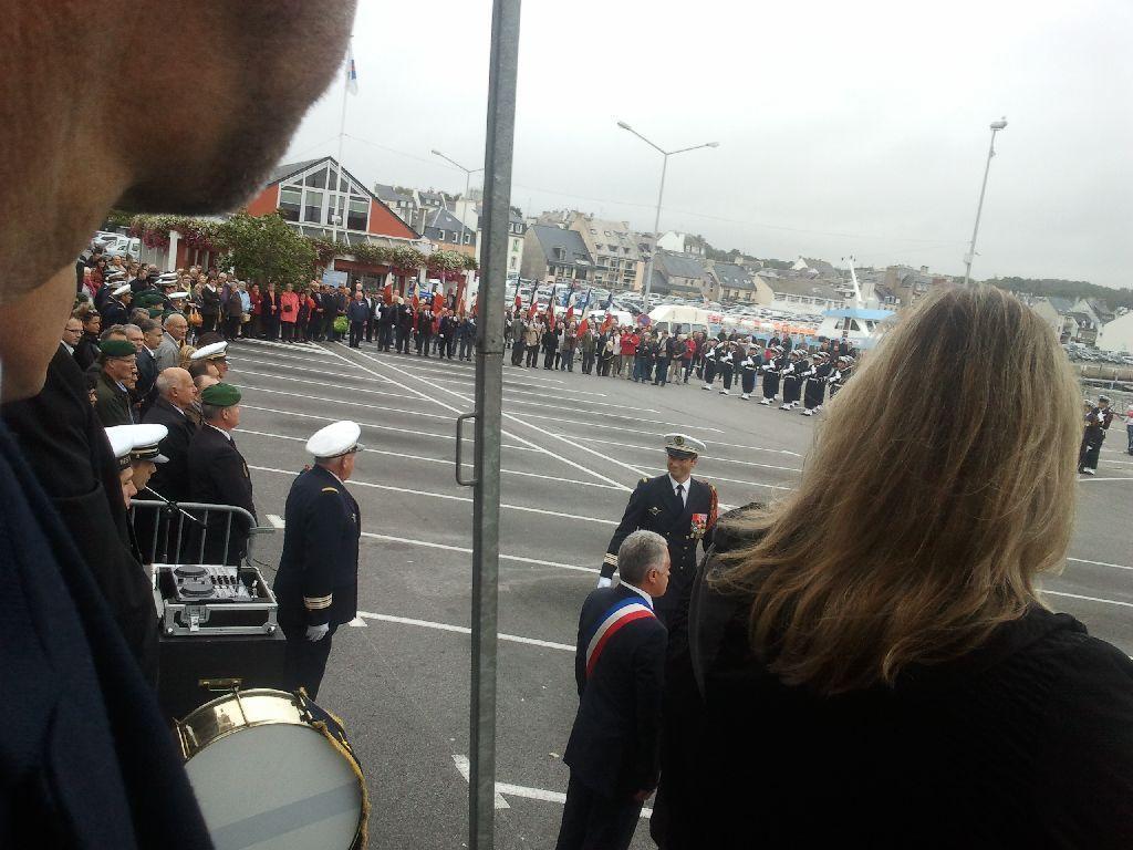 Reportage cérémonie de tradition Ecole des fusiliers à Concarneau 912