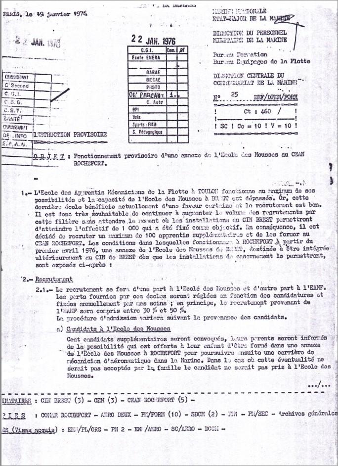 [Aéronavale Divers] Annexe de l'École des Mousses spécifique à Aéronautique Navale de Rochefort Aero_110