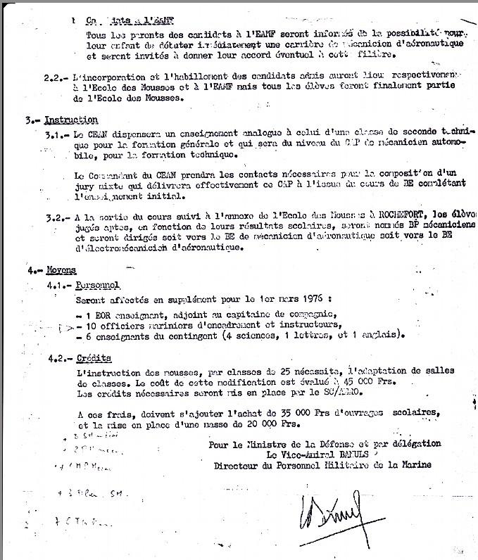 [Aéronavale Divers] Annexe de l'École des Mousses spécifique à Aéronautique Navale de Rochefort Aero_210