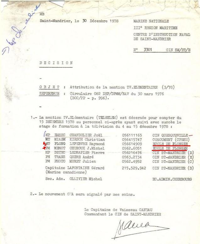 [Les écoles de spécialités] ÉCOLE DE PLONGEUR DE BORD - Page 3 Pedag13