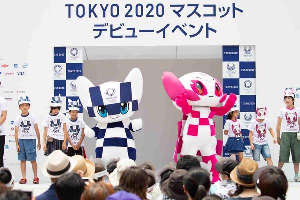 22 JUILLET 2018 LES MASCOTTES DE TOKYO 2020 FONT LEURS DEBUTS 20180710