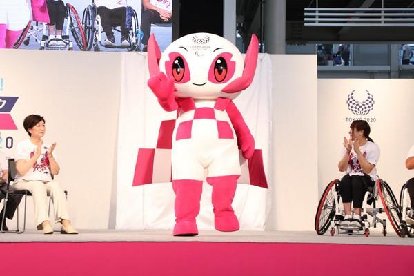 29 AOUT 2018 TOKYO FETE LES JEUX PARALYMPIQUES A 2 ANS DE LEUR OUVERTURE  20180811
