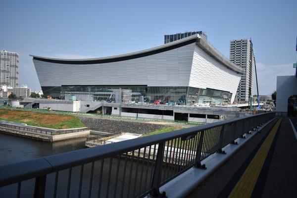 LE MAGNIFIQUE SITE DU VOLLEYBALL POUR LES JEUX DE TOKYO 2020 OUVERT AU PUBLIC POUR LA PREMIÈRE FOIS Ariake10