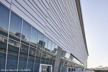 LE MAGNIFIQUE SITE DU VOLLEYBALL POUR LES JEUX DE TOKYO 2020 OUVERT AU PUBLIC POUR LA PREMIÈRE FOIS Epz9b111