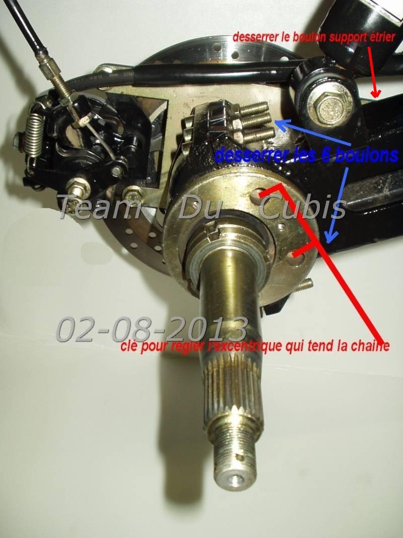 Casse roulement roue arrière Reglag11