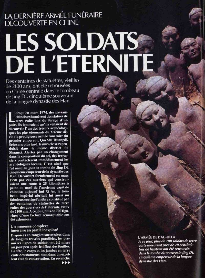 The soldiers of Eternity - Jing Di tomb discovery (French) 12192710