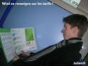 Julien a visité le réseau Alto! Dscn2433